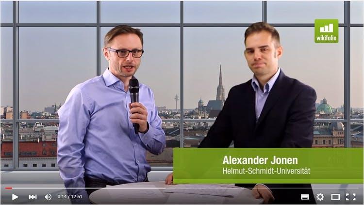 Alexander Jonen im Interview mit Andreas Kern bei wikifolio.com