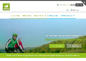 Radler Screenshot Homepage wikifolio.com